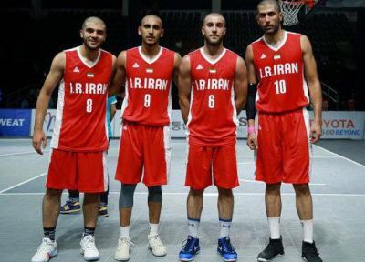 آذری: تیم بسکتبال سه نفره ایران عالی بازی کرد، روز اول سخت است