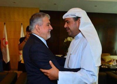 دیدار صالحی امیری با شیخ احمد