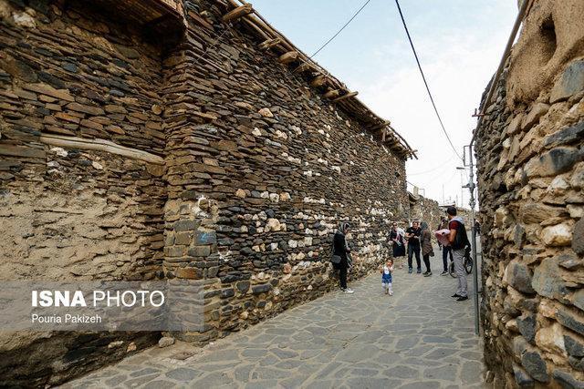 عجایبی که در روستای سنگی ایران می بینید + تصاویر