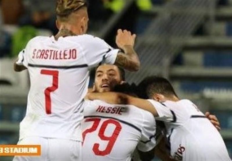 فوتبال دنیا، میلان در زمین ساسولو با پیروزی آشتی کرد