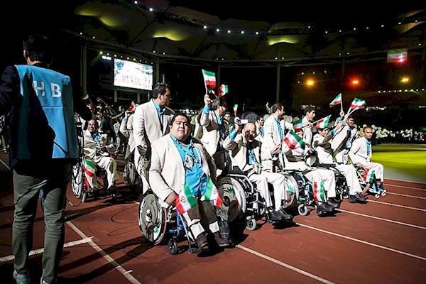 کاروان ورزشی ایران در پاراآسیایی 2018 وارد جاکارتا شد