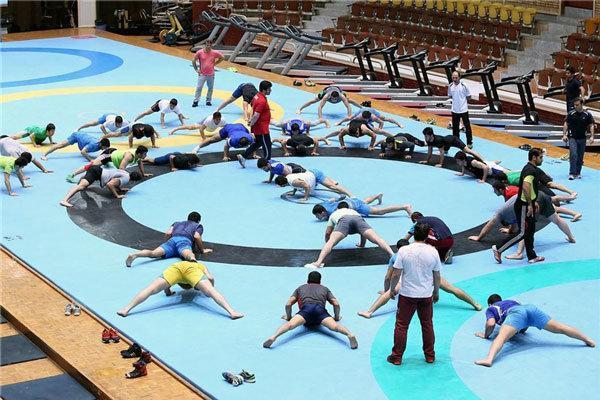 شاگردان خادم به تمرین ورزش باستانی پرداختند