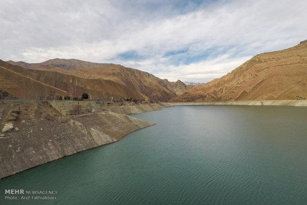 ذخایر آبی سدهای تهران همچنان کمتر از سال گذشته است