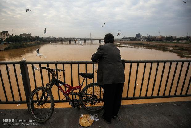هوای خوزستان هفته جاری پایدار است، پیش بینی بارش ها تا سرانجام سال