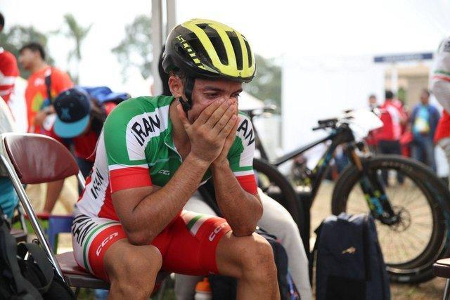 رکابزن ایران پس از ناکامی در کسب سهمیه المپیک: نتوانستم بجنگم، افت شدیدی داشتم