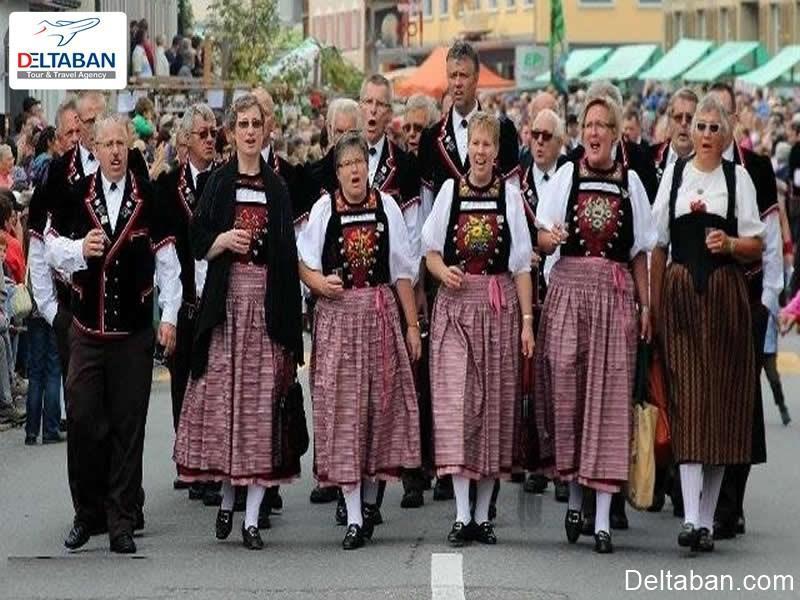 آشنایی با بهترین فستیوال های سوئیس