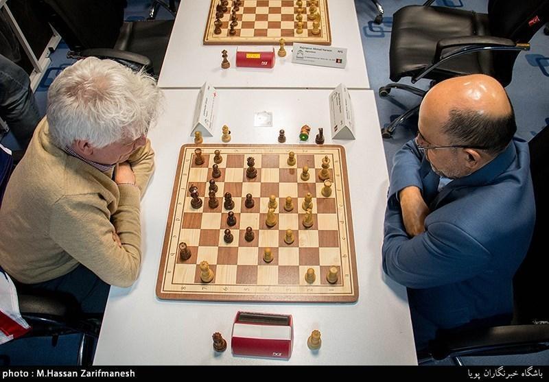 شطرنج پیشکسوتان آسیا، نماینده ایران در بخش سریع پنجم شد