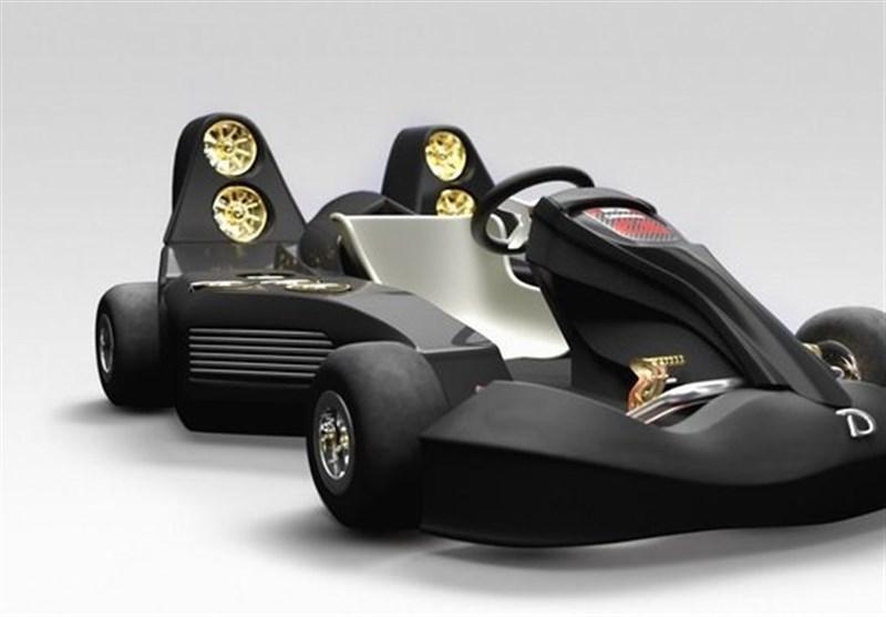 سریع ترین خودروی کارتینگ جهان رونمایی شد