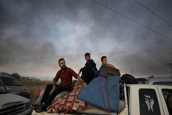 آوارگی حدود 200 هزار نفر بر اثر حمله نظامی ترکیه به سوریه