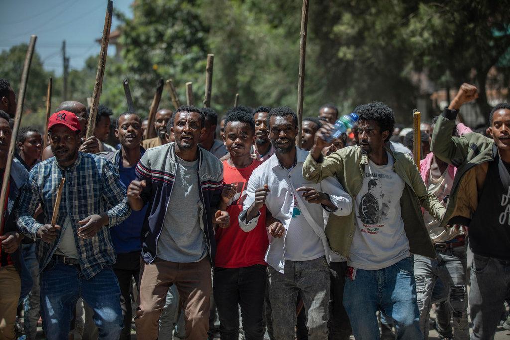 اتیوپی: تبدیل تظاهرات ضد دولتی به خشونت قومی (