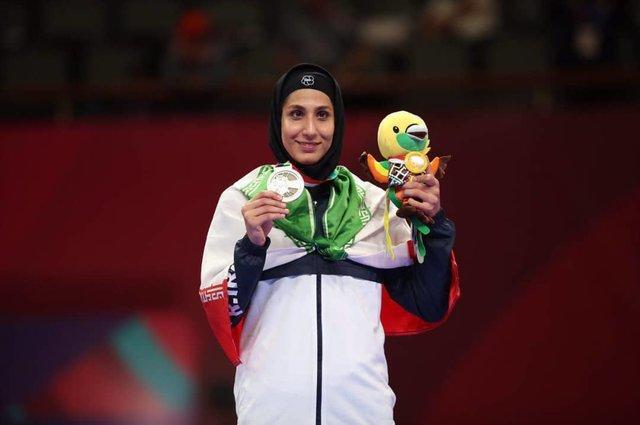 نخستین مدال کاراته ایران در بازی های آسیایی، عباسعلی مدال برنز گرفت