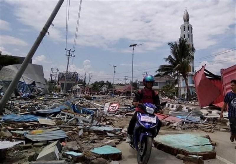 384 کشته درپی زمین لرزه و سونامی در اندونزی
