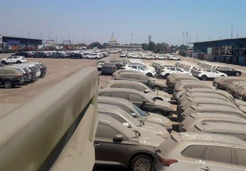 جزئیات خودروهای دپو شده در گمرک ، 258 دستگاه بالای 2500 سی سی