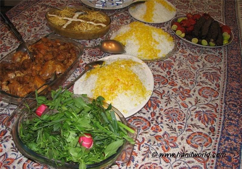 غذاهای بومی استان سمنان در جشنواره گردشگری سفره ایرانی برگزیده شد