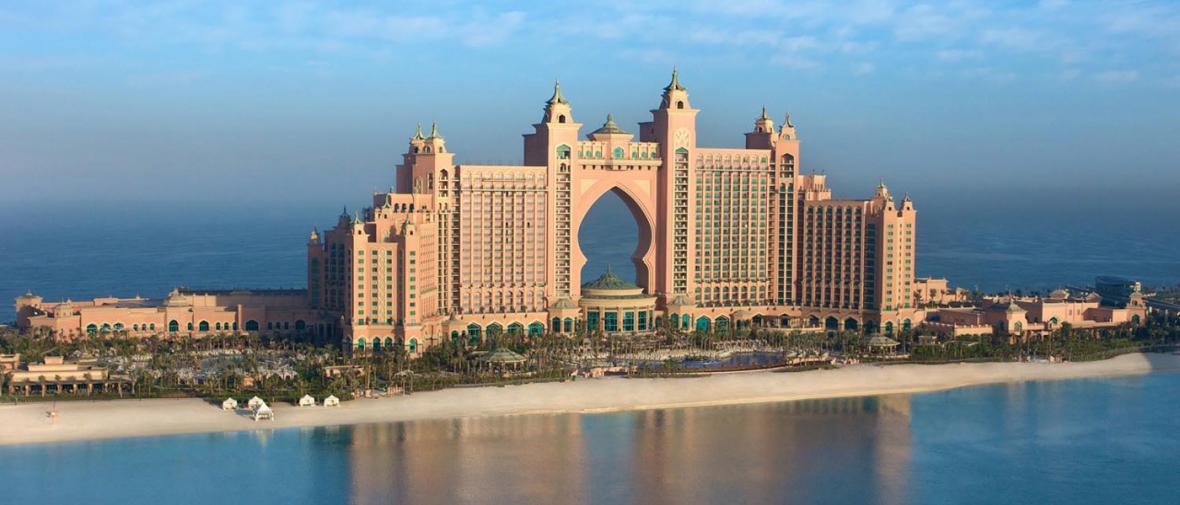 کاربرد واقعیت مجازی برای بازدید از هتل آتلانتیس پالم دبی