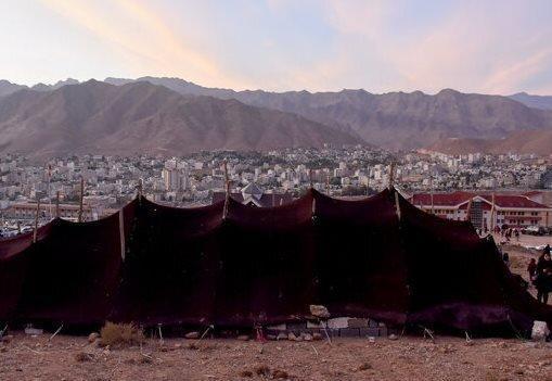 سیاه چادر ایل سنگسری سمنان ثبت ملی شد
