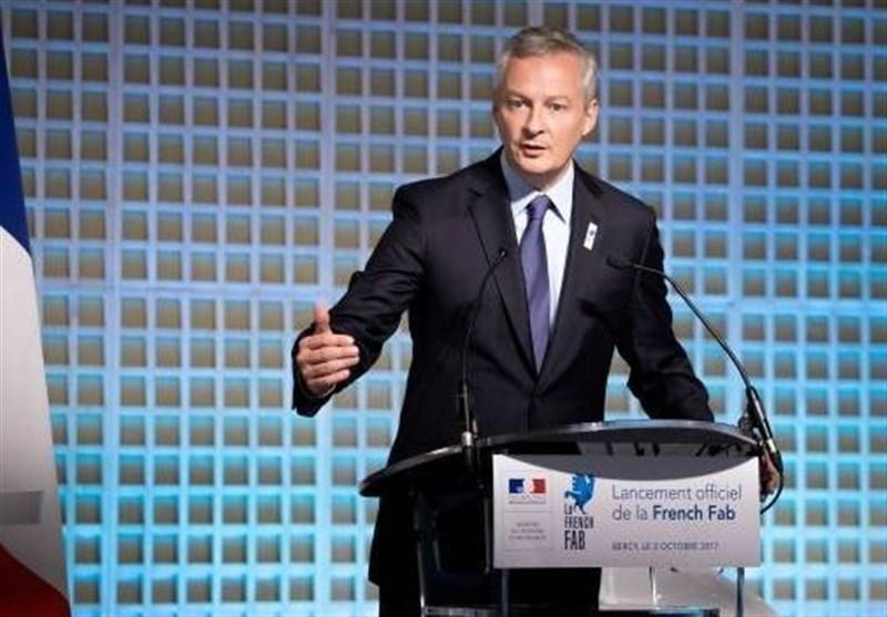 هشدار وزیر دارایی فرانسه درباره کاهش شدید فراوری ناخالص داخلی