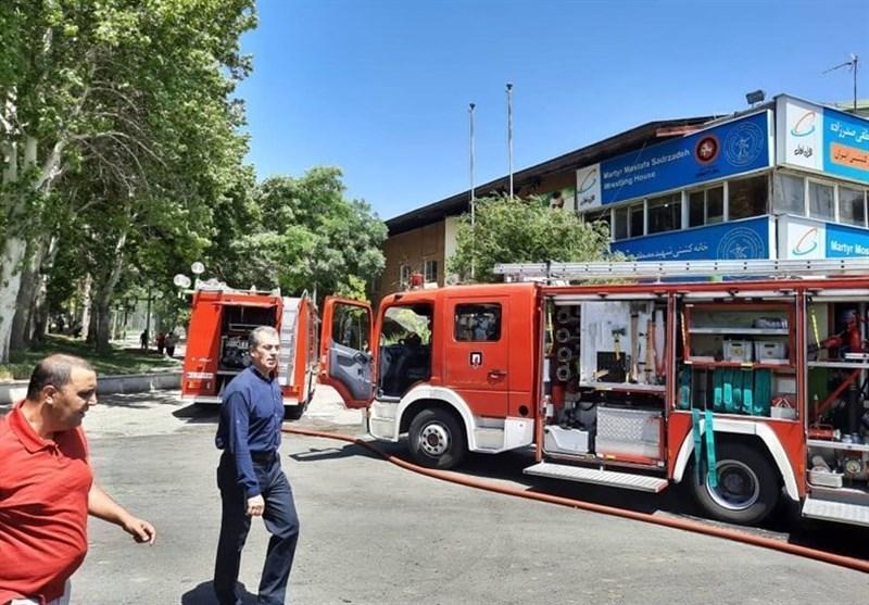 عسگری: آتش سوزی در خانه کشتی به خاطر اتصالی برق بود، کسی آسیب ندید
