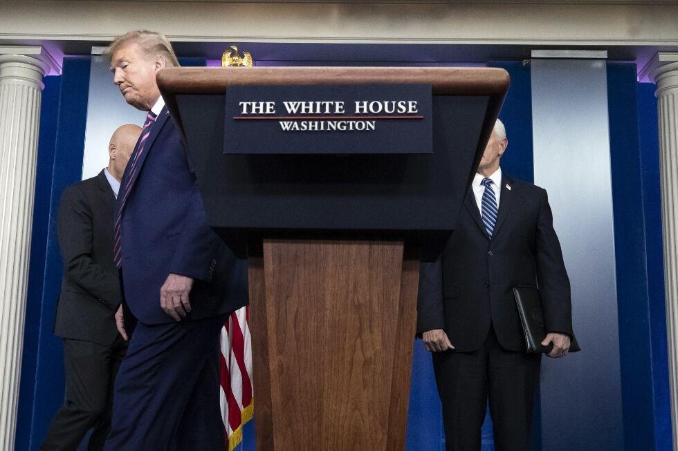 خبرنگاران راه حل کاخ سفید برای کاهش مشاجرات ترامپ با خبرنگاران