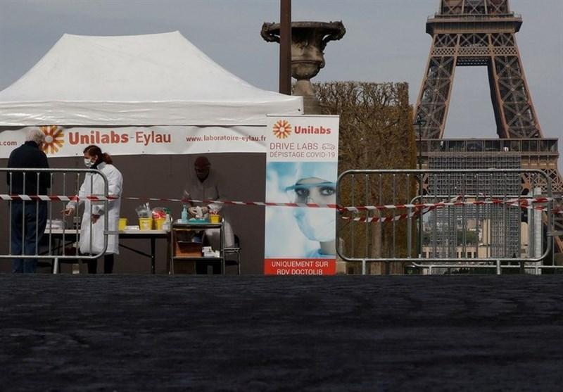مرگ 166 نفر از بیماران مبتلا به کرونا در فرانسه طی 24 ساعت گذشته