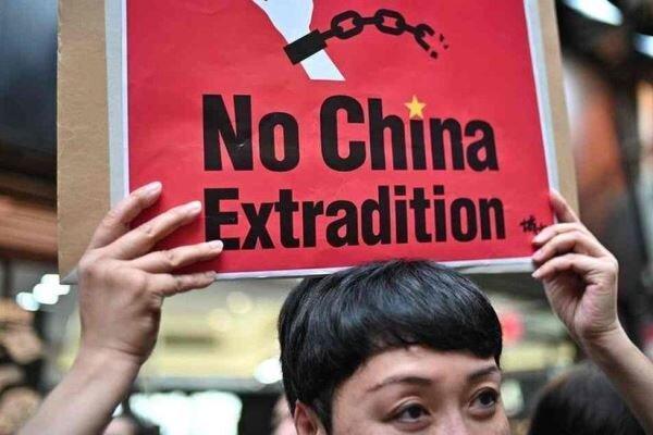 انگلیس توافقنامه استرداد با هنگ کنگ را به حالت تعلیق درمی آورد