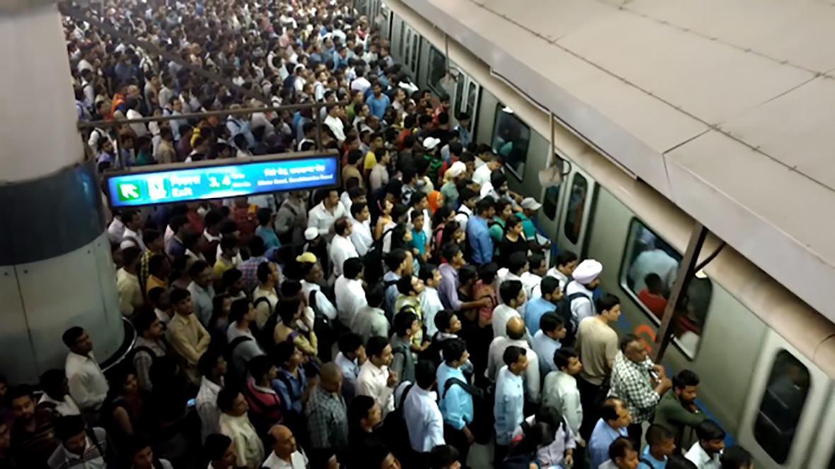 تعطیلی مترو در هند به چهار ماه رسید