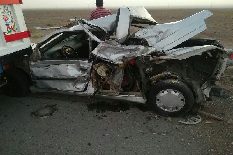 خبرنگاران تصادف در جاده کرج - چالوس پنج مصدوم برجا گذاشت