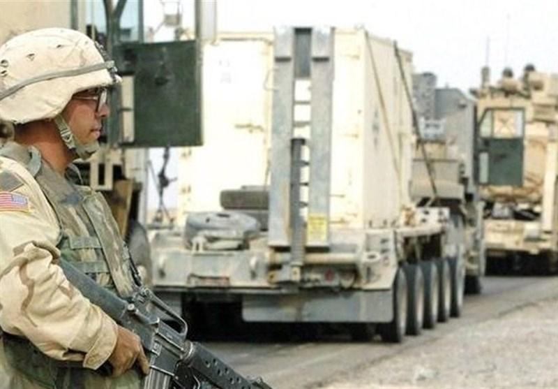 انفجار بمب در راستا عبور خودروهای وابسته به ائتلاف آمریکایی در عراق