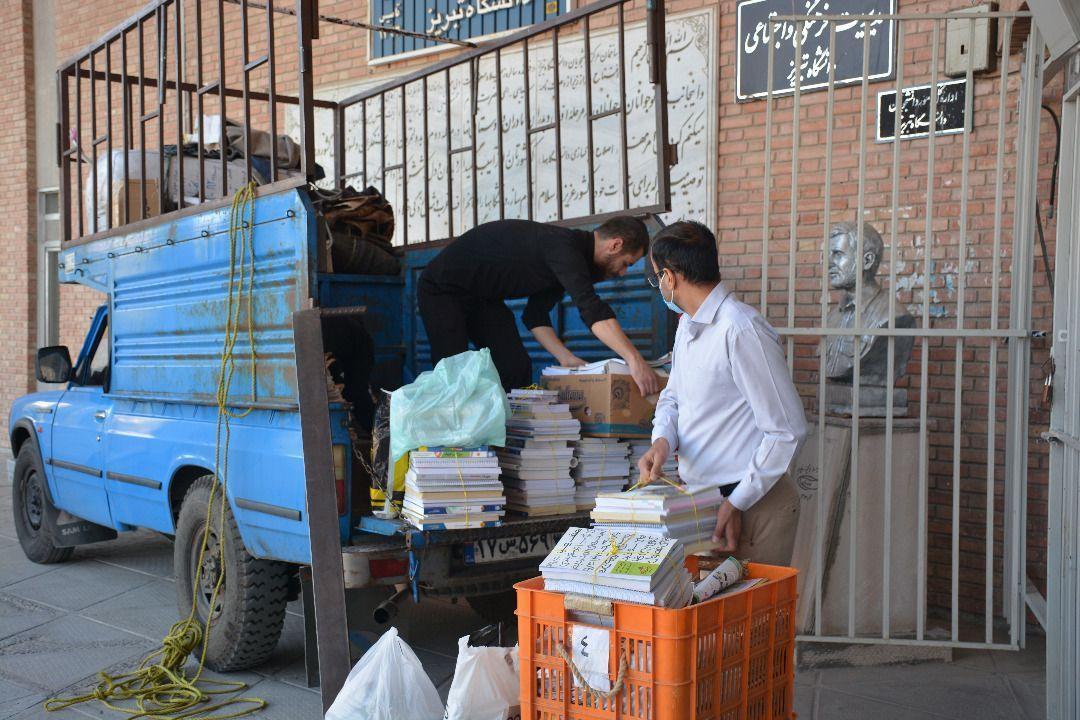 ارسال بیش از 3000 جلد کتاب به مناطق محروم آذربایجان شرقی از سوی دانشگاهیان دانشگاه تبریز