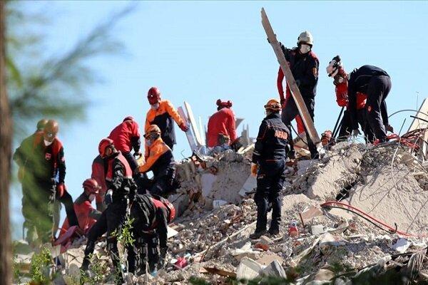 شمار قربانیان زلزله ترکیه به 69 نفر افزایش یافت