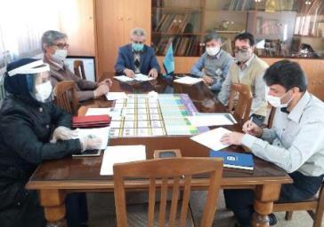نشست آنالیز راهکارهای تسریع در اجرای آموزش های طرح تکاپو در استان