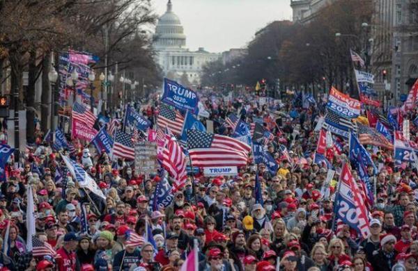 فراخوان ترامپ برای تظاهرات در واشنگتن