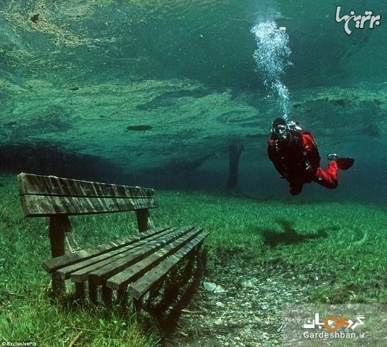 دریاچه سبز اتریش؛پارکی که تابستان ها دریاچه می شود، عکس