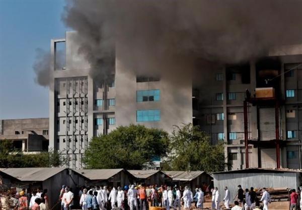 آتش سوزی در بزرگترین کارخانه فراوری واکسن جهان 5 قربانی گرفت