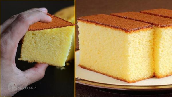 طرز تهیه کیک ساده اسفنجی و کیک تابه ای