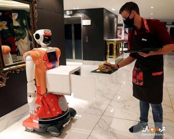 هتلی در پایتخت آفریقای جنوبی با خدمه ربات برای کرونایی ها!
