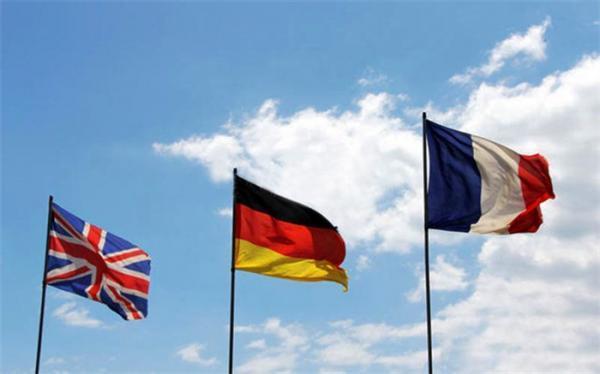 رایزنی وزیران خارجه فرانسه، انگلیس، آلمان و آمریکا درباره توافق هسته ای
