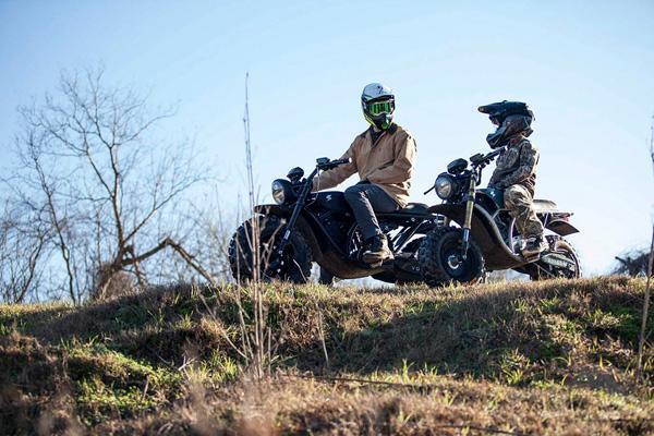 موتورسیکلتی برای بچه ها (