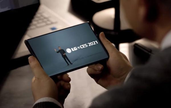 گوشی رول شونده LG در هاله ای از ابهام قرار گرفته است