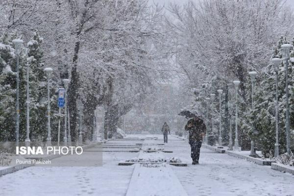 بارش برف در شمال و شمالغرب استان کرمان