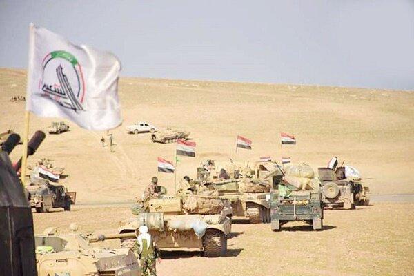 عملیات حشد شعبی علیه مواضع داعش، بازداشت 2 عنصر تکفیری خطرناک