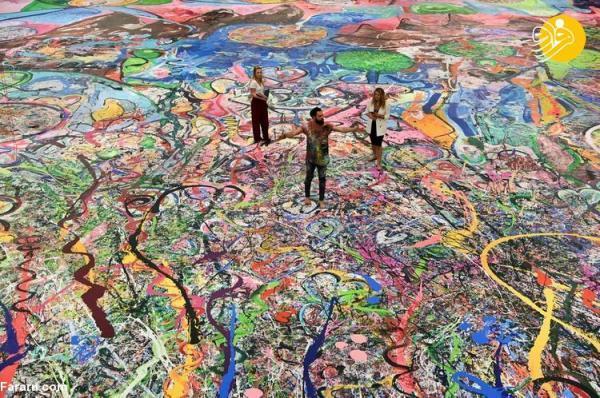 (تصاویر) بزرگترین نقاشی دنیا 62 میلیون دلار فروخته شد