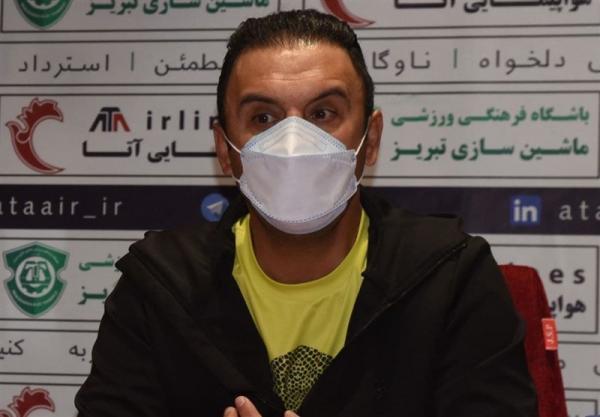 پاشازاده: جام حذفی برای ما مانند بازی تدارکاتی است، شرایط مان خوب نیست