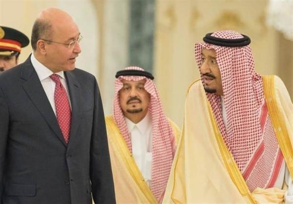 گفت وگوی پادشاه سعودی و رئیس جمهور عراق درباره امنیت منطقه