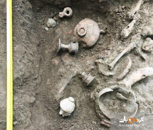 کشف محوطه ذوب آهن چند هزار ساله در یک روستای تاریخی