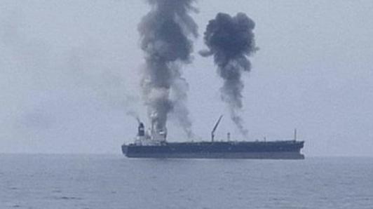 انفجار در کشتی در بندر بانیاس سوریه