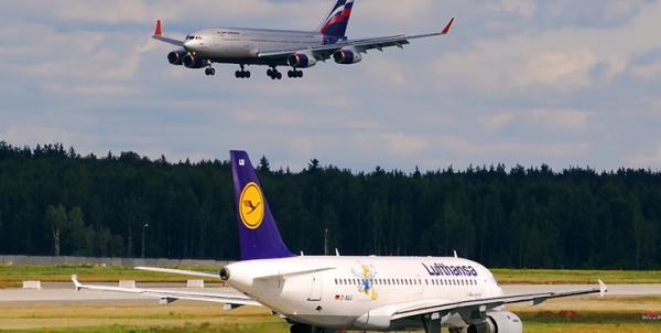 آلمان و روسیه آسمان خود را به روی هواپیماهای مسافربری یکدیگر بستند