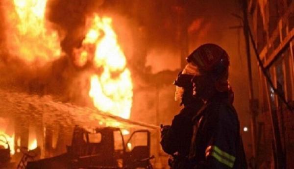 انفجار در کارخانه فولاد زرند کرمان