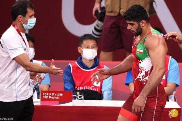 صعود هادی ساروی به نیمه نهایی المپیک