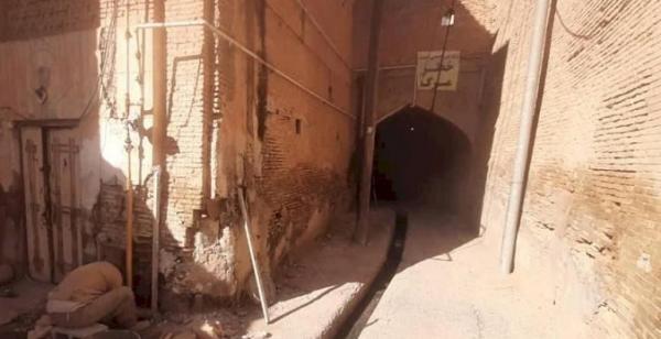 ساباط تاریخی احمدی در بافت کهن دزفول بازسازی شد